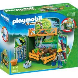 Cutie de joaca Animalele secrete ale padurii Playmobil