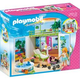Cutie de joaca Vila secreta de la plaja Playmobil
