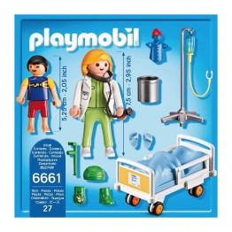 Doctor si copil Playmobil