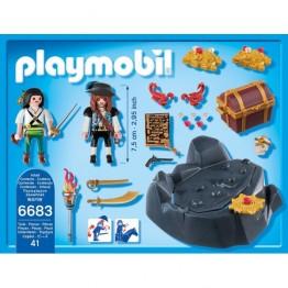 Descoperirea comorii Playmobil