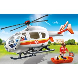 Elicopter medical de urgenta Playmobil