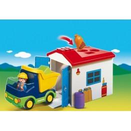Camion cu garaj de la Playmobil
