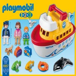 Corabia Playmobil
