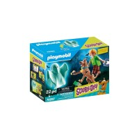 Scooby-Doo! Scooby si Shaggy cu fantoma Playmobil
