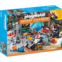 Calendar Craciun Agent secret Playmobil