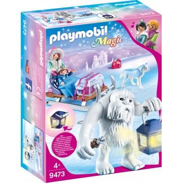 Yeti, figurine si sanie Playmobil