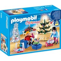 Sufragerie decorata de Craciun Playmobil