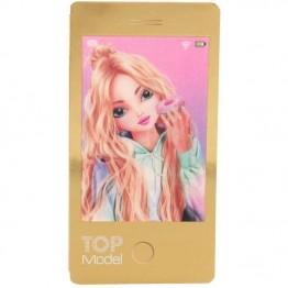Carnetel in forme de telefon mobil Top Model Depesche