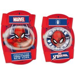 Set protectie Cotiere Genunchiere Spiderman Seven