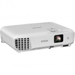 Videoproiector Epson EB-W06, 3700 lumeni, Alb