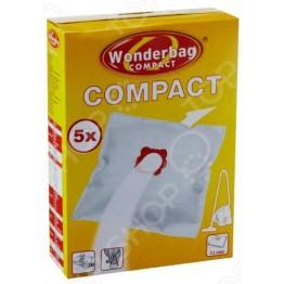 Set 5 saci universali pentru aspirator Rowenta Wonderbag Compact WB305140, capacitate 3 l