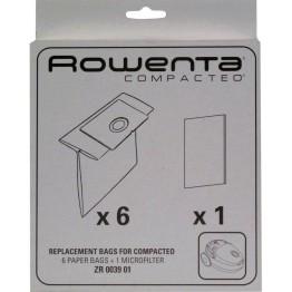 Set 6 saci pentru aspirator Rowenta ZR003901