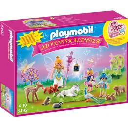 Calendar Craciun tinutul zanelor Playmobil