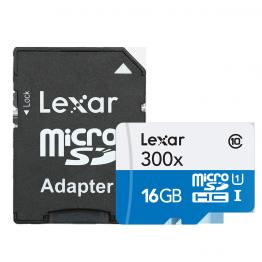 Card de memorie Lexar 300X micro SD 16 GB Clasa 10 UHS-I