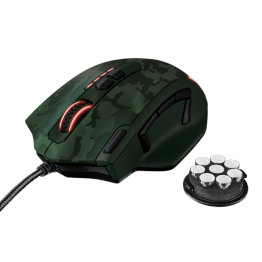 Mouse gaming Trust GXT 155 , USB , Optic , 4000 DPI , Verde