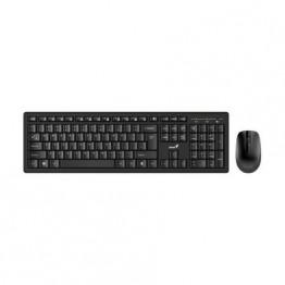 Kit mouse tastatura Genius, Wireless, USB Receiver, Negru