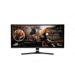 Monitor LED LG 34UC79G , Full HD , 34 Inch , Panel IPS , Gaming , Ultralat , AMD FreeSync , Negru