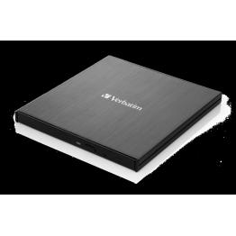Unitate optica Verbatim, Blu Ray, Ultra HD 4K, USB Tip C, Negru