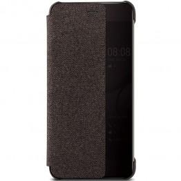Husa protectie smartphone Huawei P10 Plus , tip Book Smart View , Maro