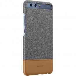 Capac protectie Huawei , pentru Huawei P10 , Material textil si piele , Gri deschis
