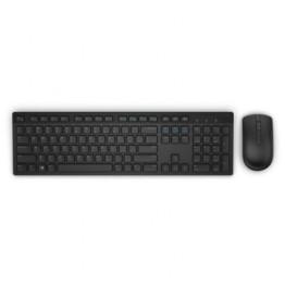 Kit mouse si tastatura Dell KM636 , Fara Fir , USB Receiver , Negru