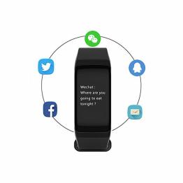 Smartwatch B5 , Monitorizare inima , Sport , Negru