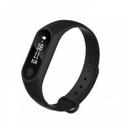 Smartwatch B9 , Monitorizare puls si presiune arteriala , Pedometru , Negru