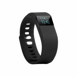 Smartwatch B10 , Curea silicon , Pedometru , Negru