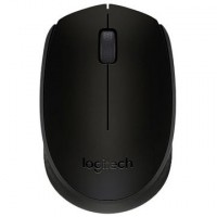 Mouse wireless Logitech B170 , Fara Fir , Optic , 1000 DPI , Negru
