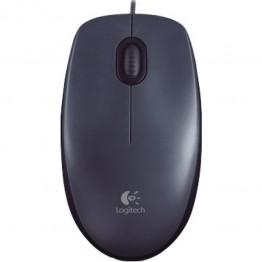 Mouse Logitech M100 , Optic , 1000 DPI , Gri inchis
