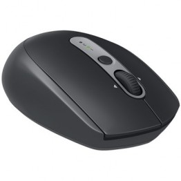Mouse wireless Logitech M590 Silent Plus , Optic , 1000 DPI , Gri Grafit