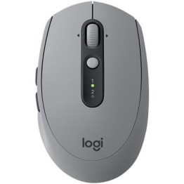 Mouse wireless Logitech M590 Silent Plus , Optic , 1000 DPI , Gri