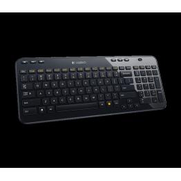 Tastatura Logitech K360 , Multimedia , Fara Fir , USB Logitech Unifying receiver , Negru