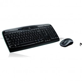 Kit mouse si tastatura Logitech Wireless desktop MK330 , Multimedia , Fara Fir , USB Logitech Unifying Receiver , Negru