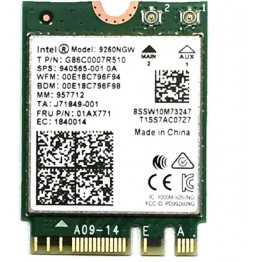 Placa de retea Intel 9260.NGWG, Wireless, Dual Band, Bluetooth