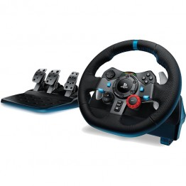 Volan cu pedale Logitech Driving Force G29 PC , PlayStation 3 , PlayStation 4 , Negru