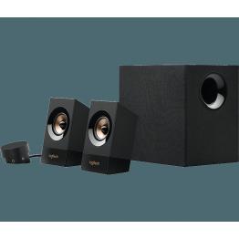 Boxe sistem 2.1 Logitech Z533 , Putere RMS 60W , Control Bass si volum , Negru