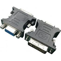 Adaptor video Gembird A-DVI-VGA-BK, VGA - DVI