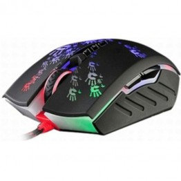 Mouse A4Tech Bloody A60 , Optic , 4000 DPI , Iluminare LED , Gaming , Negru