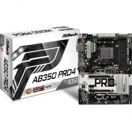 Placa de baza ASRock AB350 Pro 4 , ATX , AMD AM4 , Chipset B350