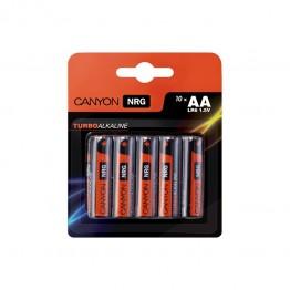 Bateri Canyon AA Alkaline 10 buc