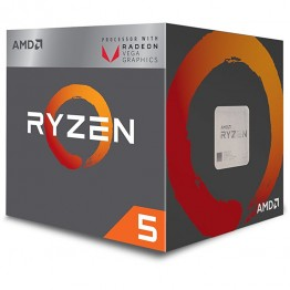Procesor AMD Ryzen 5 2400G , Raven Ridge , Quad Core , 3.9 Ghz