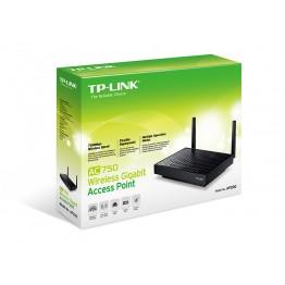 Access point TP-Link AP200 , Interior , Gigabit , Dual Band , AC750 , 802.11 a/b/g/n/ac , Negru
