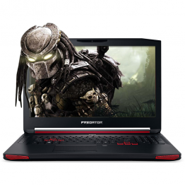 Laptop gaming Acer Predator G9-793 17.3 Inch Full HD IPS Intel Core I7-7700HQ Kaby Lake 16 GB RAM 256 GB SSD nVidia GTX 1070 8 GB GDDR5 Linux Negru