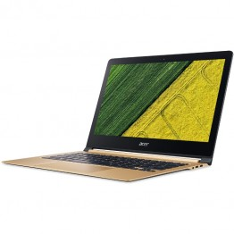 Laptop Ultrabook Acer Swift 13.3 Inch Full HD IPS Intel Core I7-7Y75 8 GB RAM 512 GB SSD Intel HD 615 Windows 10 Home Gold