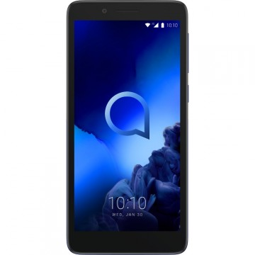 Smartphone Alcatel 1C 2019, Dual Sim, 5 Inch, Spreadtrum SC7731E Quad Core, 1 GB RAM, 8 GB Flash, Android Oreo Go, Enmel Black