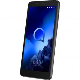 Smartphone Alcatel 1C 2019, Dual Sim, 5 Inch, Spreadtrum SC7731E Quad Core, 1 GB RAM, 8 GB Flash, Android Oreo Go, Volcano Black