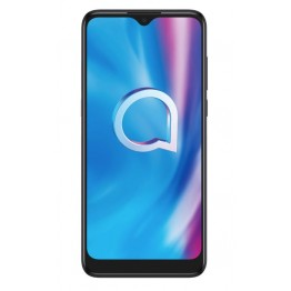 Smartphone Alcatel 1S 2020, Dual Sim, 6.22 Inch HD+ Vast Display, 3 GB RAM, 32 GB Flash, Triple AI Camera, Retea 4G, Android 10, Power Gray