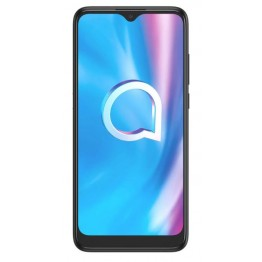 Smartphone Alcatel 1SE, Dual Sim, 6.22 Inch HD, 4 GB RAM, 64 GB Flash, Retea 4G, Triple Camera AI, Powder Gray