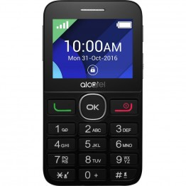 Telefon mobil Alcatel 2008G , Single Sim , Negru